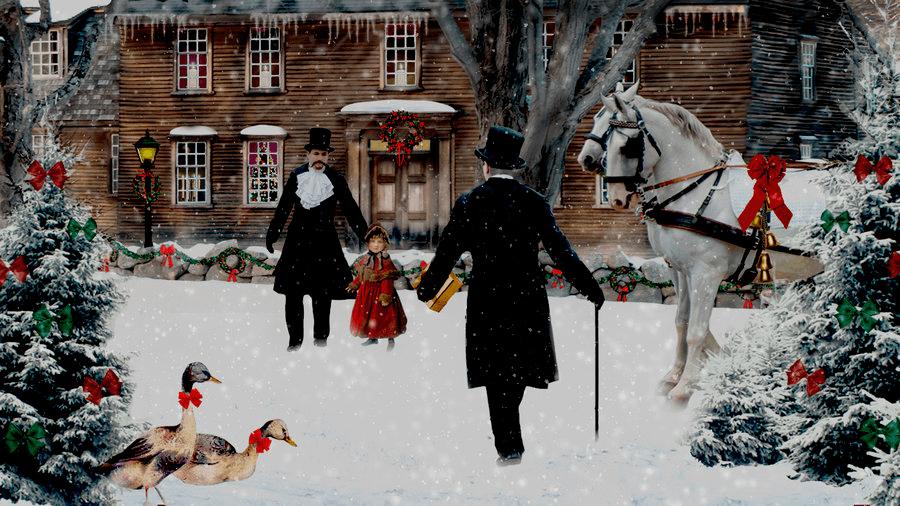 Postales De Paisajes De Navidad Fondos De Pantalla Y