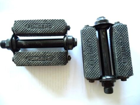 pedalen dames zwart