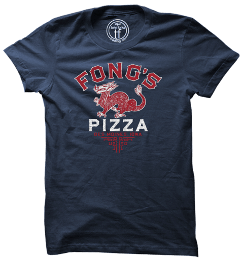Navy Fong's Pizza T-Shirt