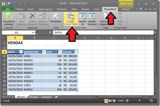 Excel 2010 + PowerPivot (2/5)