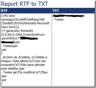 RTF to Text usando Custom Assembly no SSRS 2008 R2 (4/4)