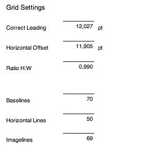 Grid Systems : Calculate grids for layouts in InDesign with