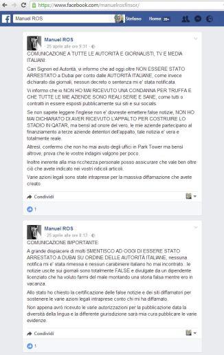 facebook 25 e 26 aprile 1
