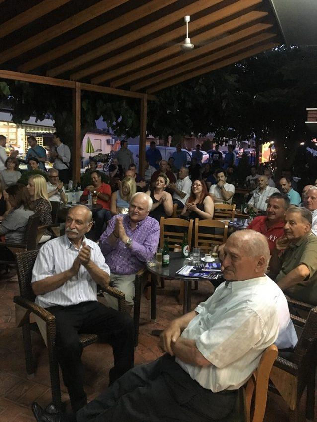κάτοικοι του Σβορώνου έστειλαν ηχηρό μήνυμα νίκης στην επίσημη πρώτη προεκλογική 3