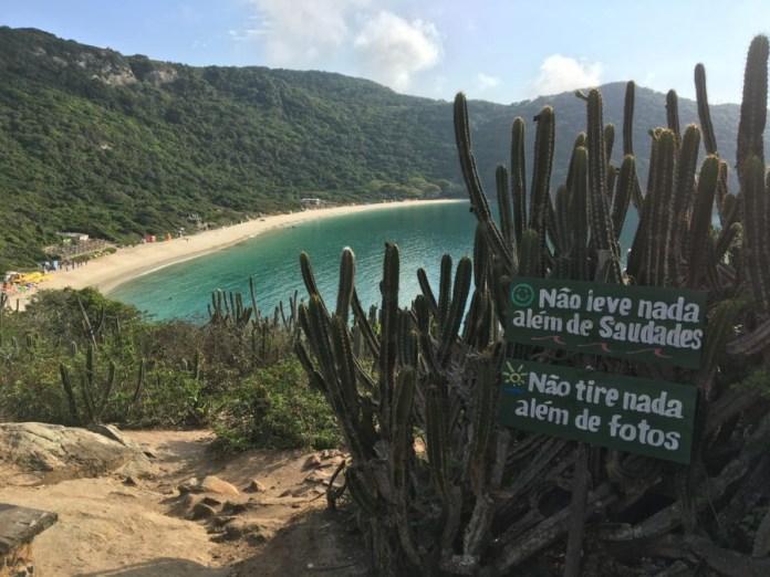 MPF investiga construções irregulares na Praia do Forno, em Arraial do Cabo