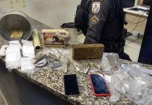 Homem é preso com mais de 2 Kg de drogas em Búzios