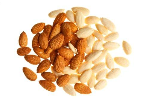 amendoas - 8 Alimentos que Fazem Seu Cabelo Crescer Mais Rápido