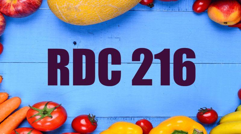RDC 216 1 - RDC 216 ou RDC 216/2004 e CVS 5 e Portaria 2619: O que é? Para que Serve?
