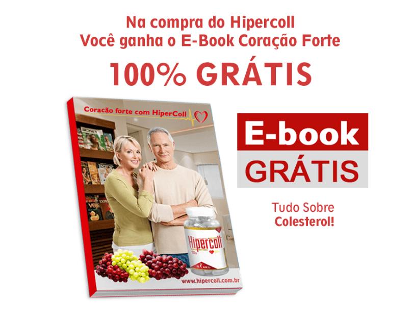Hipercoll Funciona e Combate o Colesterol - brinde de um ebook gratis coração forte