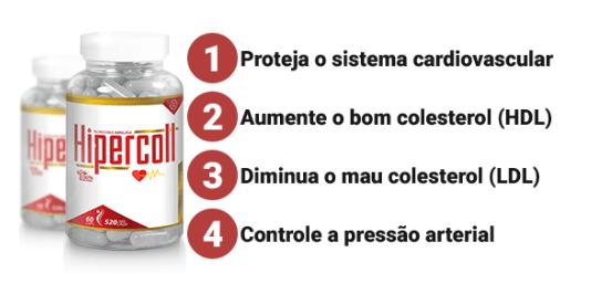 Hipercoll Funciona Combate o Colesterol quantidade de frascos - Hipercoll Funciona? Preço? Combate o Colesterol? Coração Forte