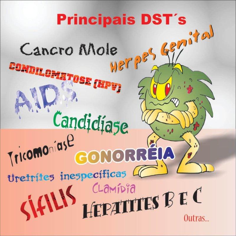 DST 4 - O que é DST? Como prevenir? Veja mais informações aqui.