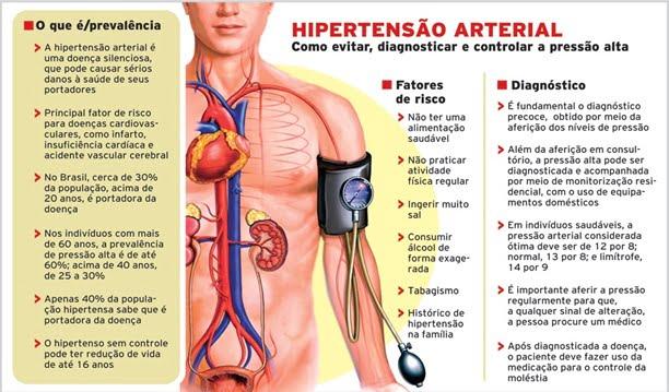 hiper 4 - Hipertensão: veja o que é e como tratar esse mal
