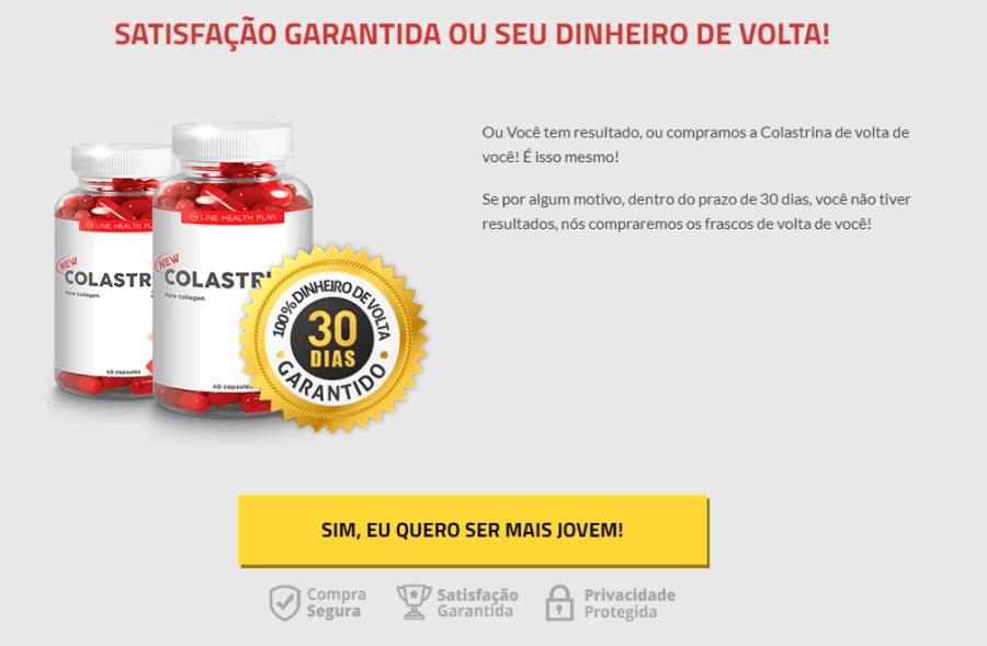 COLASTRINA tem garantia de 30 dias quero comprar agora - Colastrina  - O Segredo do Rejuvenescimento – Colágeno Hidrolisado