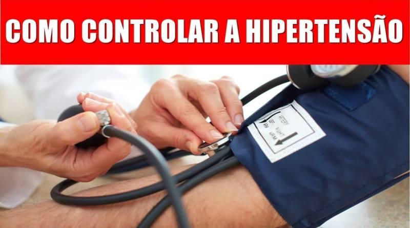Fonte da Saude - Programa Controlando Hipertensao - como controlar