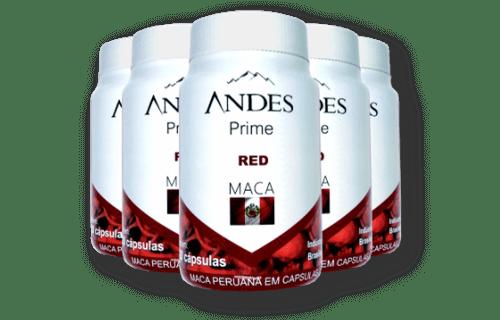 fonte da saude - Andes Prime Red maca Peruana potes