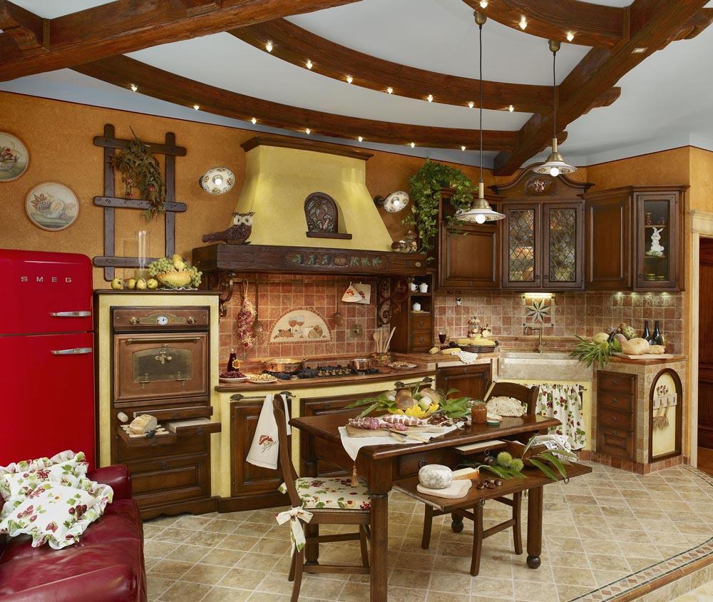 Forno Cucina In Muratura cucina in muratura finta - cucina in finta muratura archivio