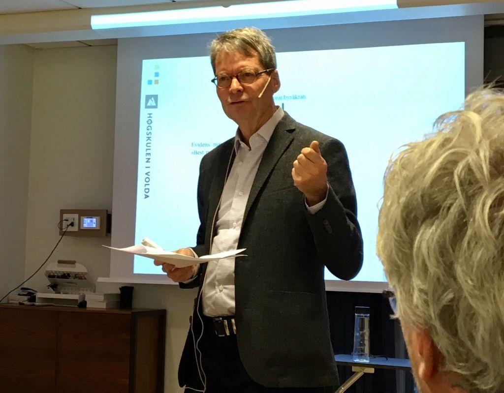 Kåre Heggen, professor Høgskulen i Volda