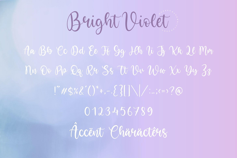 Bright Violet6