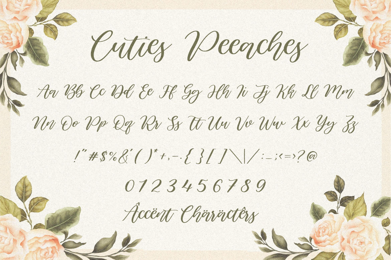 Cuties Peaches 6