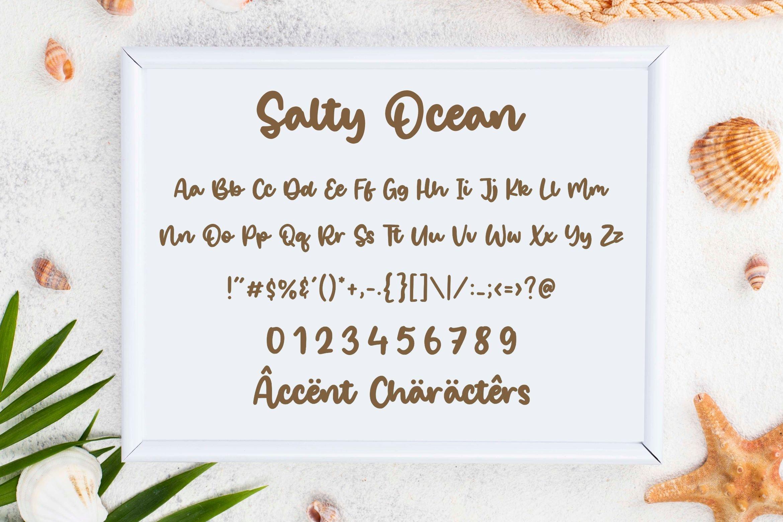 Salty Ocean 6