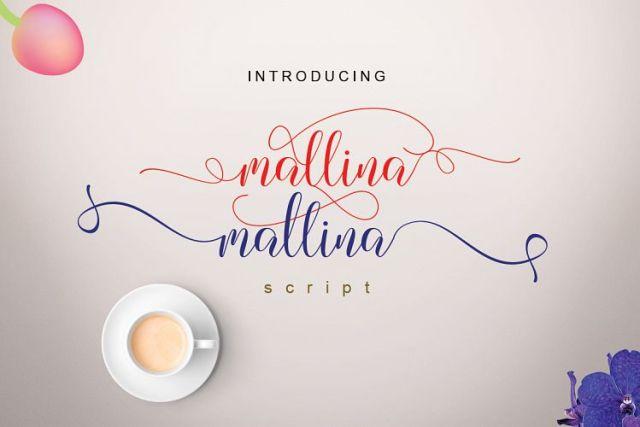 Mallina Script