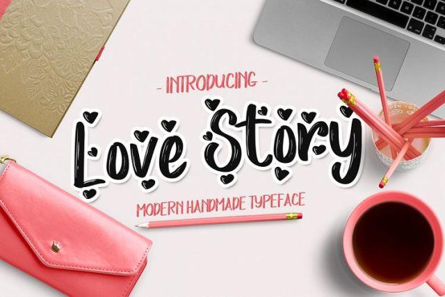 Love Story Brush