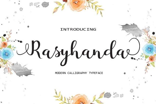 Rasyhanda Script