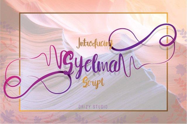 Syelma Script