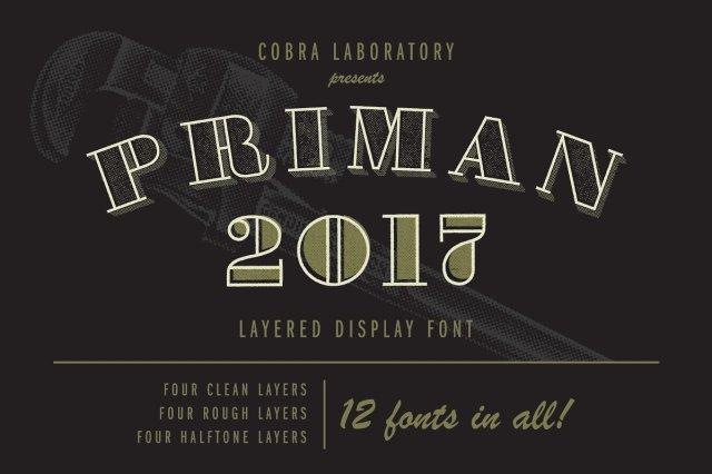 Priman Layered Display