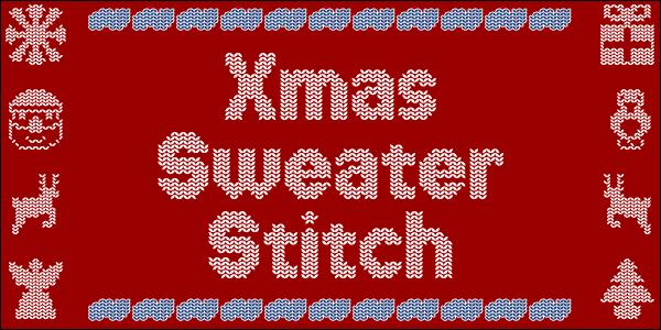 Xmas Sweater Stitch