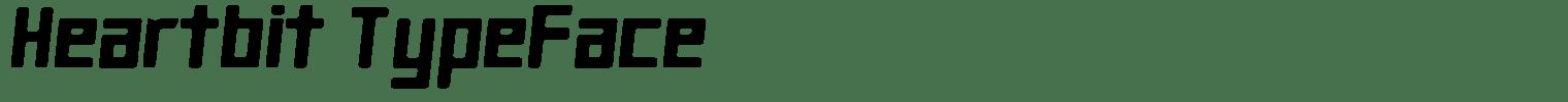 Heartbit Typeface