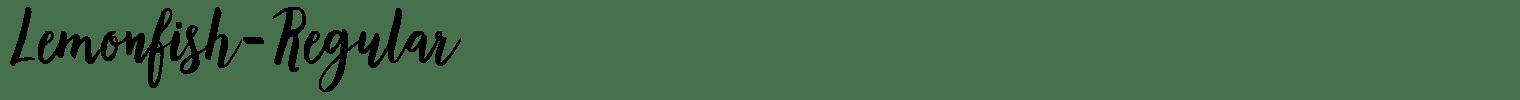 Lemonfish-Regular