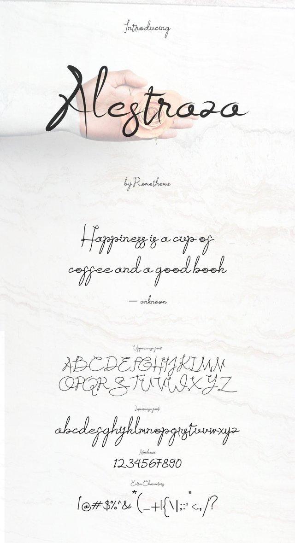 Alestraza Handwritten