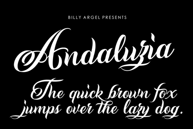 Andaluzia Script