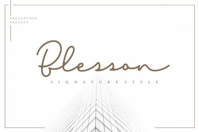 Blesson Signature