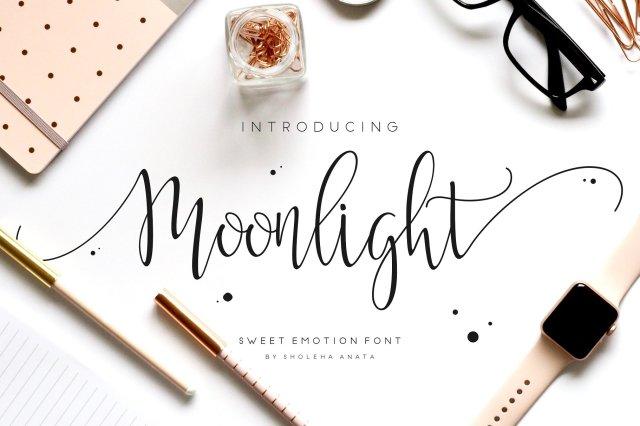 Moonlight Handwriting