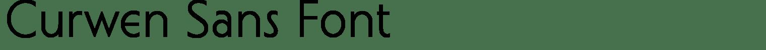Curwen Sans