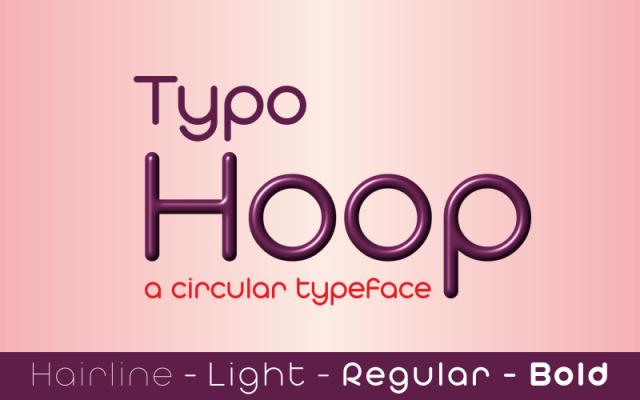 Typo Hoop