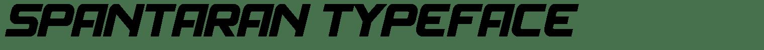 Spantaran Typeface