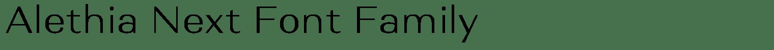 Alethia Next Font Family