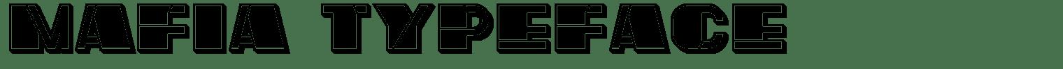 Mafia Typeface
