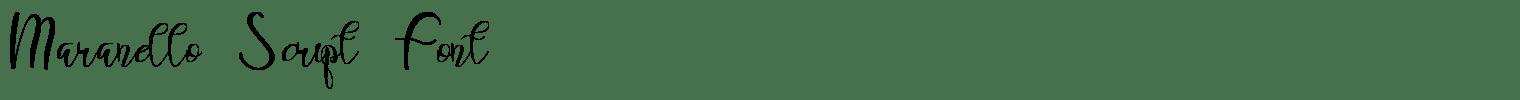 Maranello Script Font
