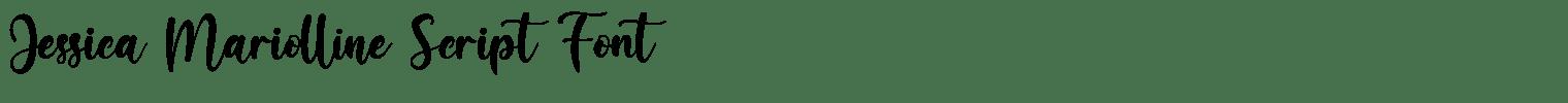 Jessica Mariolline Script Font