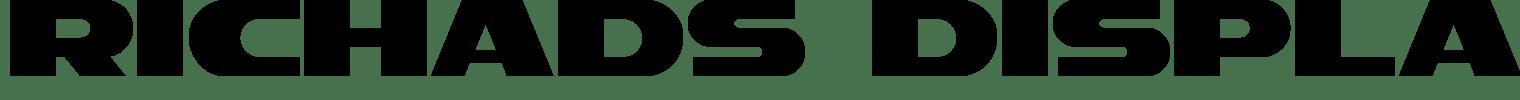 RichAds Display Font