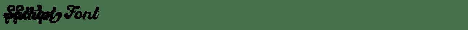 Suthen Script Font