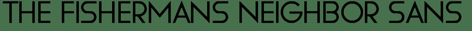 The Fishermans Neighbor Sans Serif Font