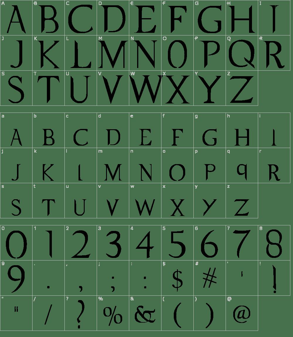 Supernatural Knight Font Download