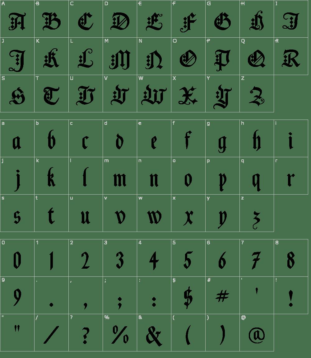Black Knight Font Download