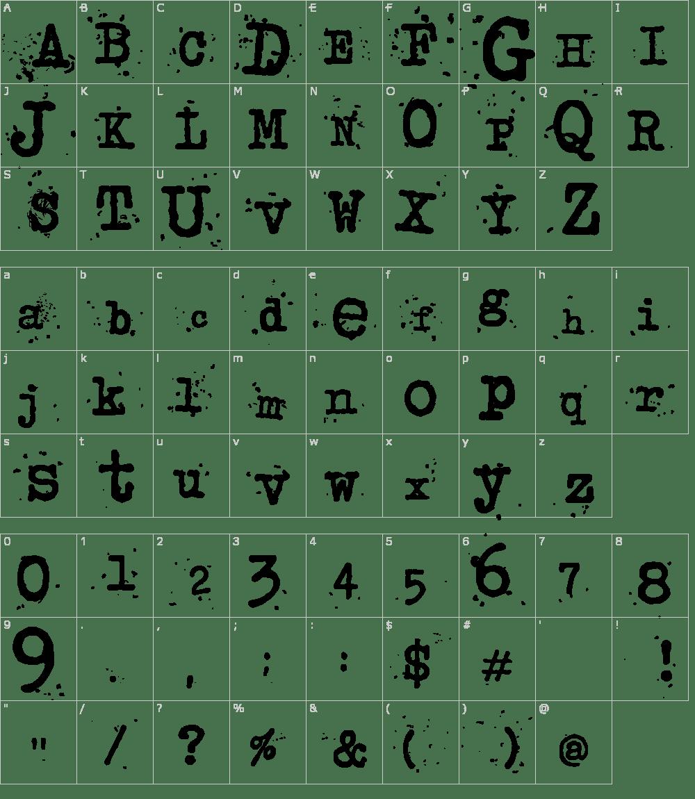Junkos Typewriter Font Download