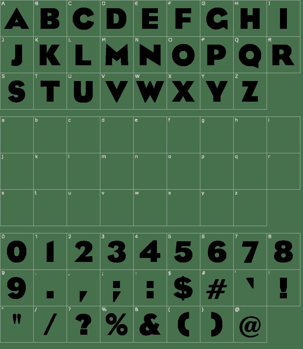 OPTI Eagle Bold Font Download